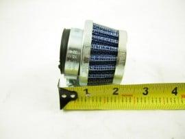 Air filter 34mm small metal...