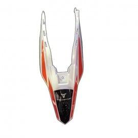 11 Ornge Rear Fender
