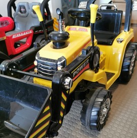 Electric tractor for...