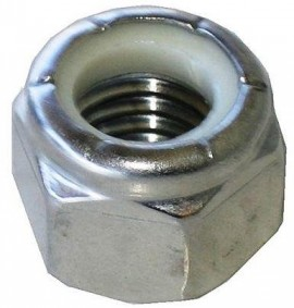 10  Hex nut m10x1,25 for...