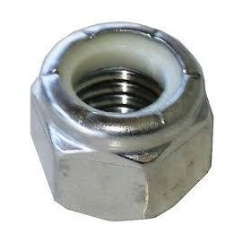 15 Hex lock nut m6 for all...