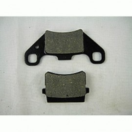 15,3 Brake pad with 2 ear...