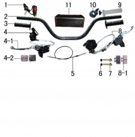 EXHAUST AND GAS TANK