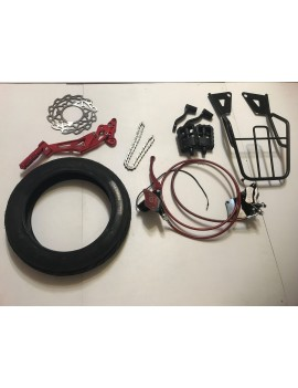 Wheel, brake and other parts